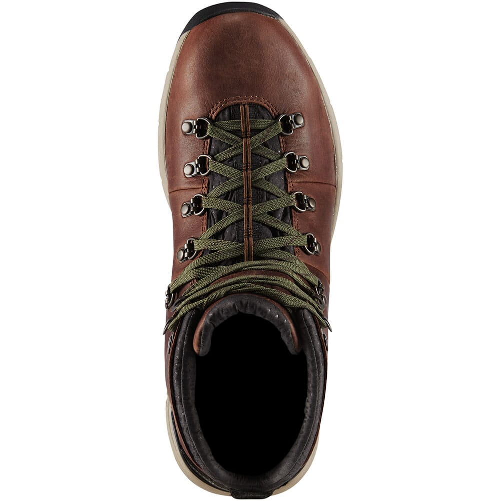62273 Danner Men's Mountain 600 Waterproof Hiking Boots - Walnut/Green