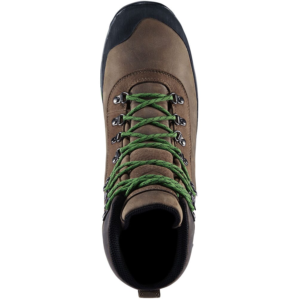 67810 Danner Men's CRAG RAT USA Hiking Boots - Brown/Green