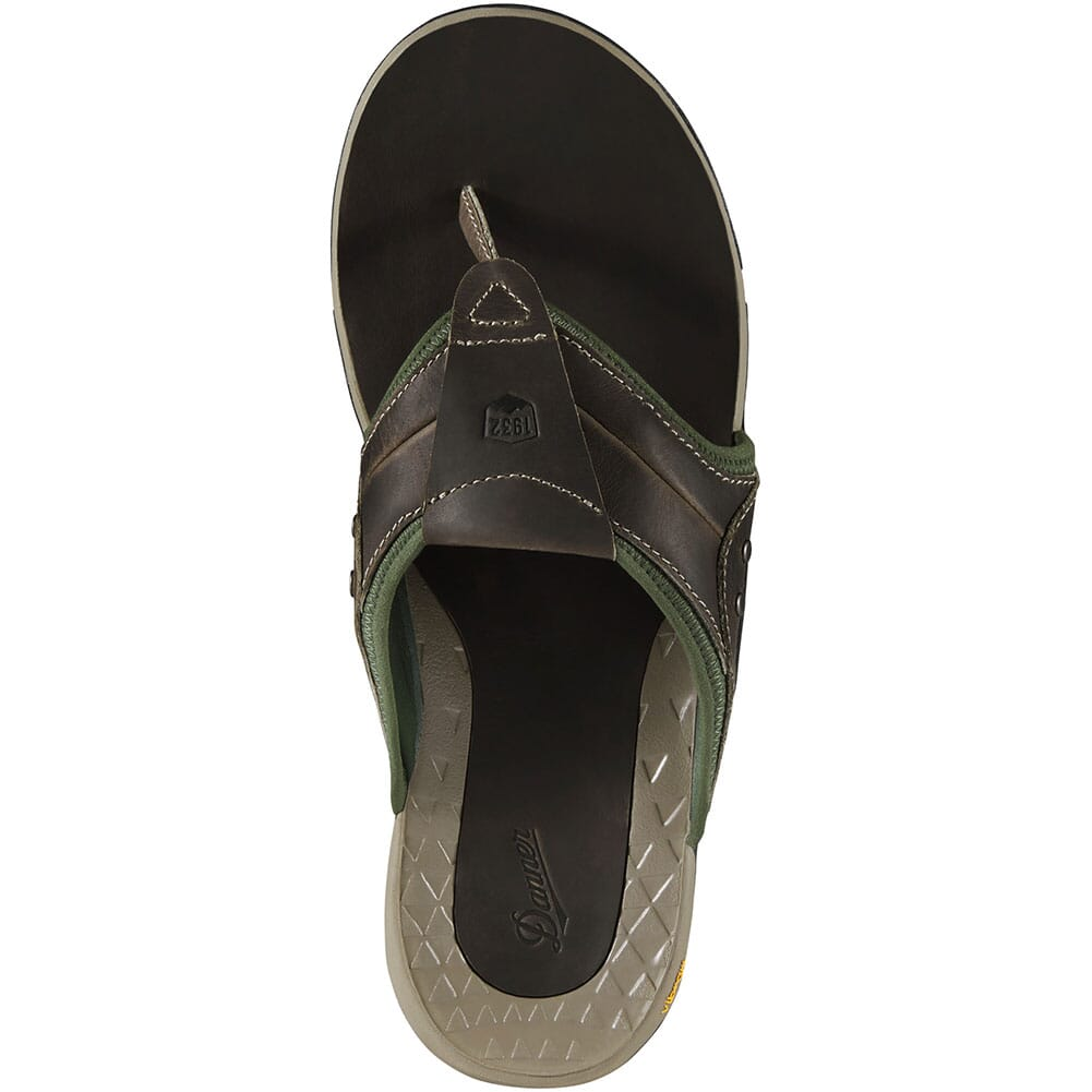 68134 Danner Men's Lost Coast Sandals - Gray/Kombu Green