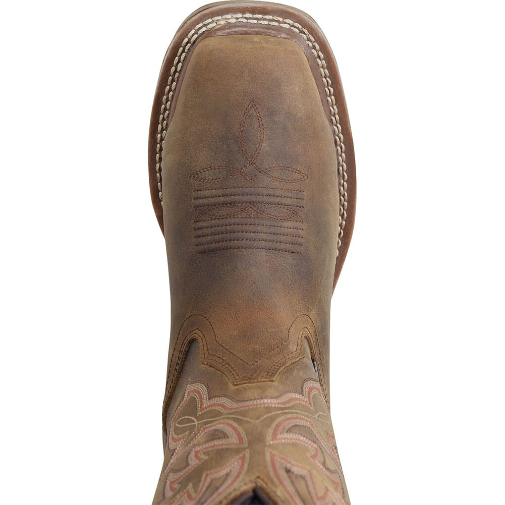 Double H Women's Elexis Safety Boots - Brown
