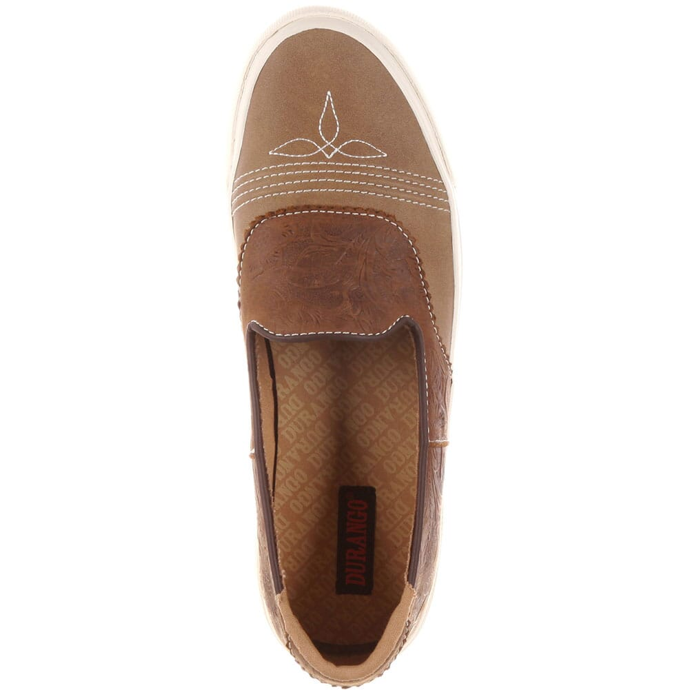 Durango Music City Women's Slip-On Saddle Sneaker - Dusk To Dawn Tan