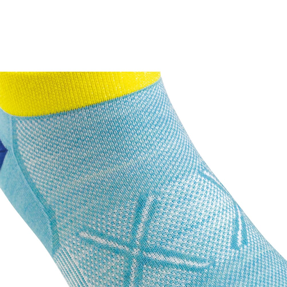 Darn Tough Women's Vertex No Show Tab Ultra-Light Socks - Light Blue