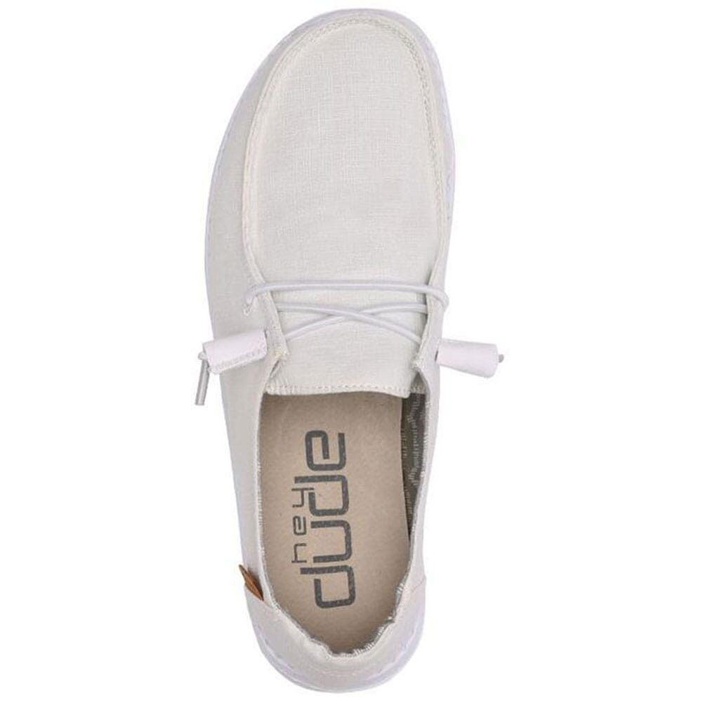 Hey Dude Women's Wendy Casual Shoes - Chambray White