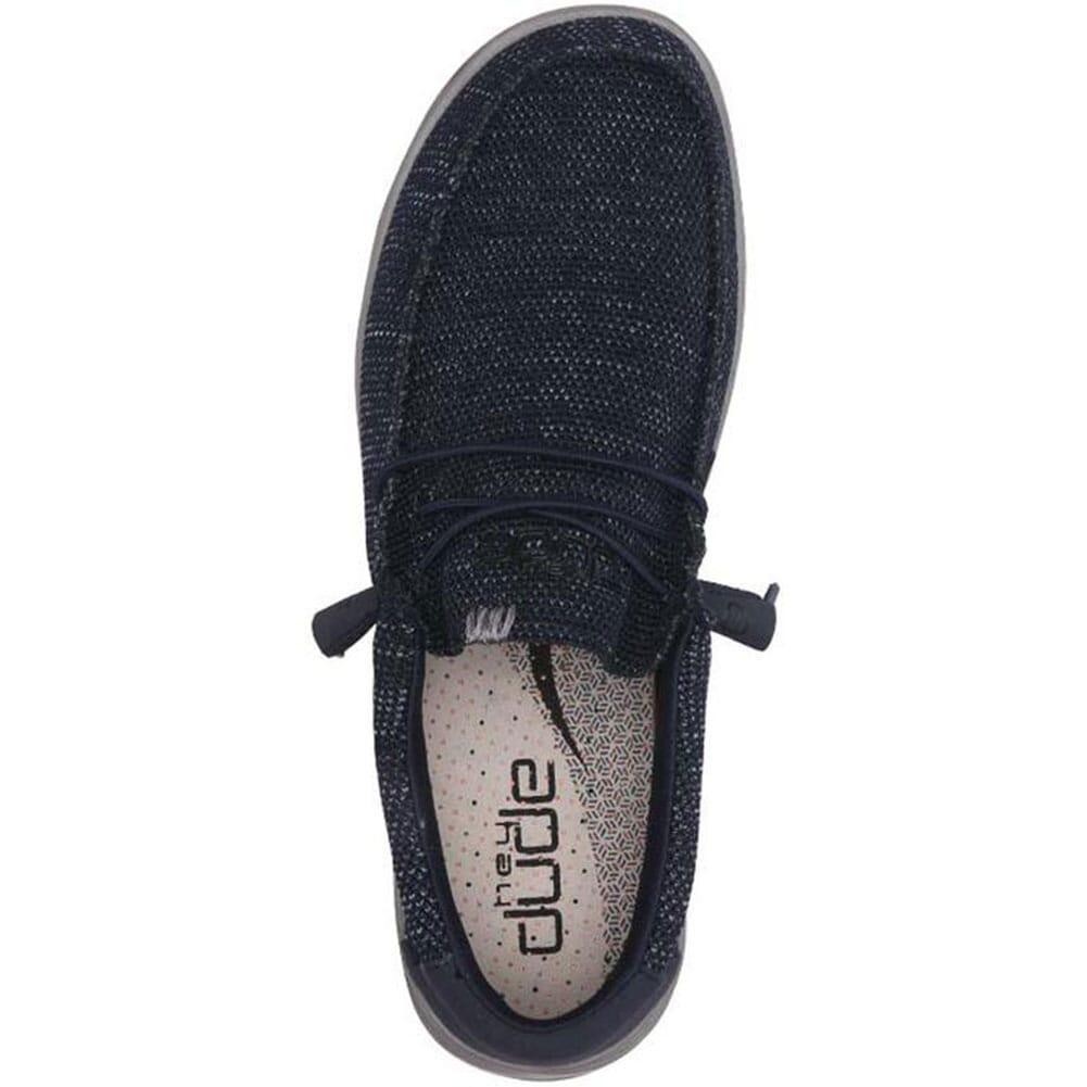 Hey Dude Men's Wally Free Casual Shoes - Navy