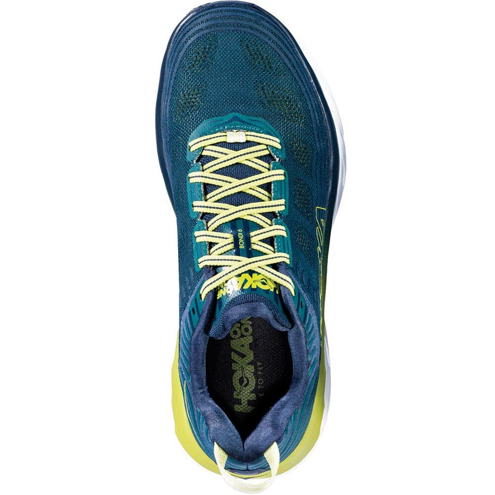 Hoka One One Men's Bondi 6 Running Shoes - Deep Teal/Green