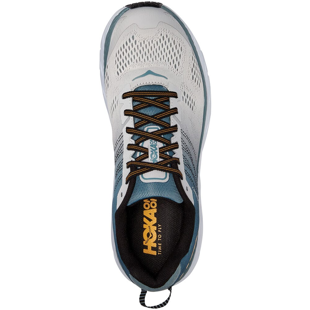 Hoka One One Men's Clifton 6 Running Shoes - Lead/Lunar Rock