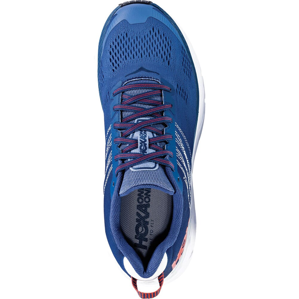Hoka One One Men's Clifton 6 Wide Running Shoes - Ensign Blue