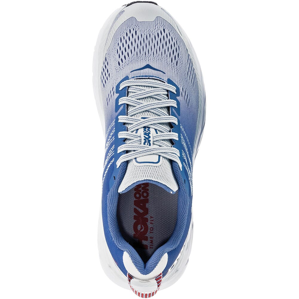 Hoka One One Women's Clifton 6 Wide Running Shoes - Blue