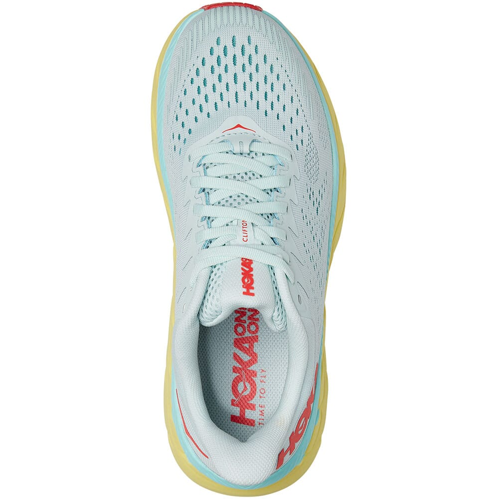 1110509-MMHC Hoka One One Women's Clifton 7 Running Shoes - Morning Mist