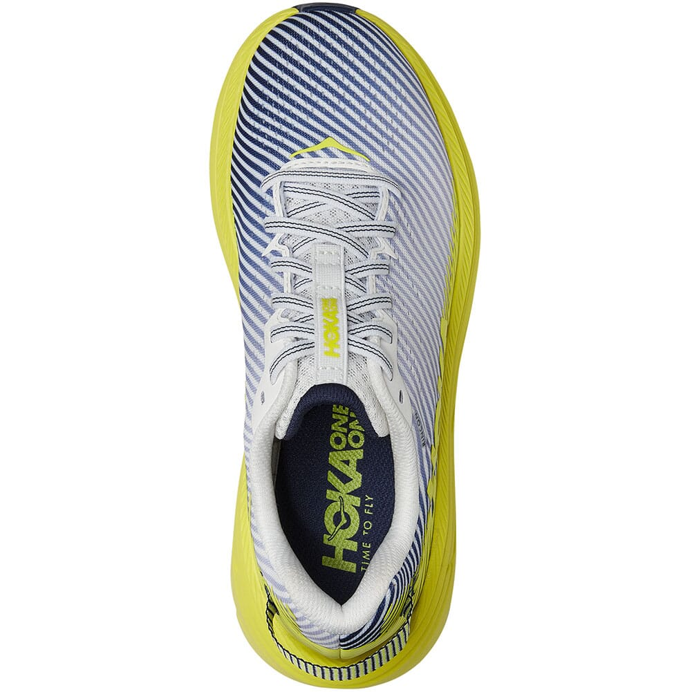 1110515-BDBCT Hoka One One Women's Rincon 2 Running Shoes - Blanc de Blanc/Citru