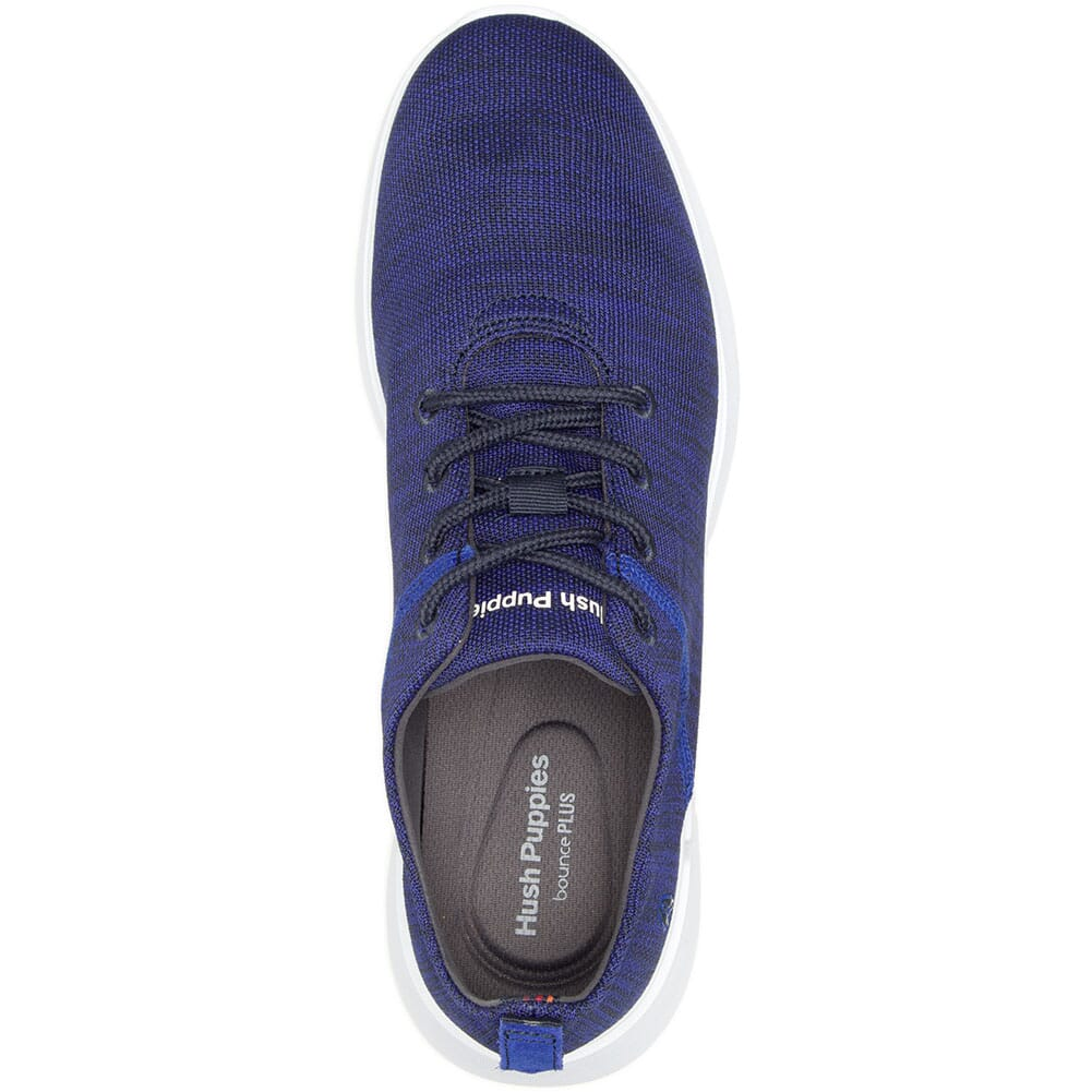 Hush Puppies Men's Cooper Lace Up Casual Shoes - Navy Heathered