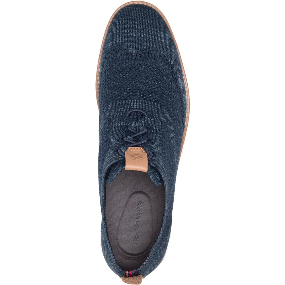 Hush Puppies Men's Expert Wingtip Knit Casual Shoes - Navy
