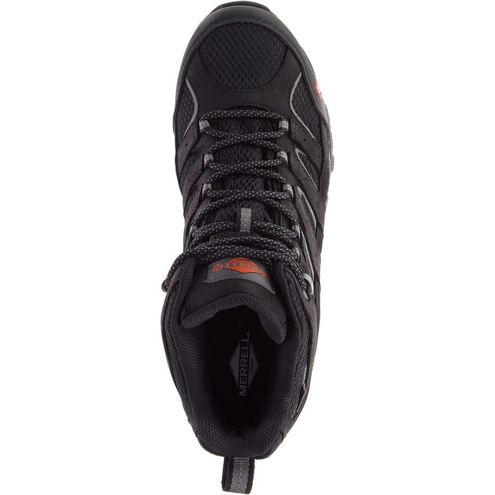 Merrell Men's Moab Vertex Vent Wide Safety Boots - Black