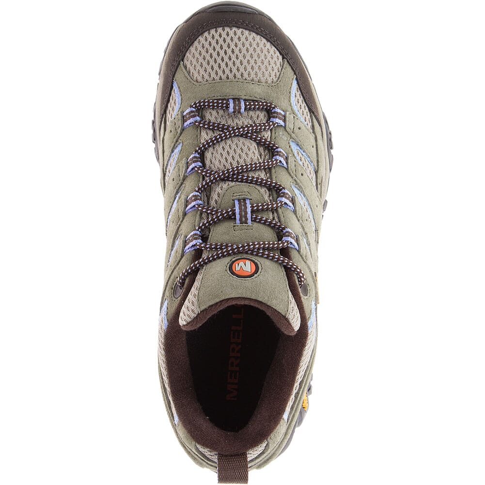 06030W Merrell Women's Moab 2 WP Wide Hiking Shoes - Dusty Olive