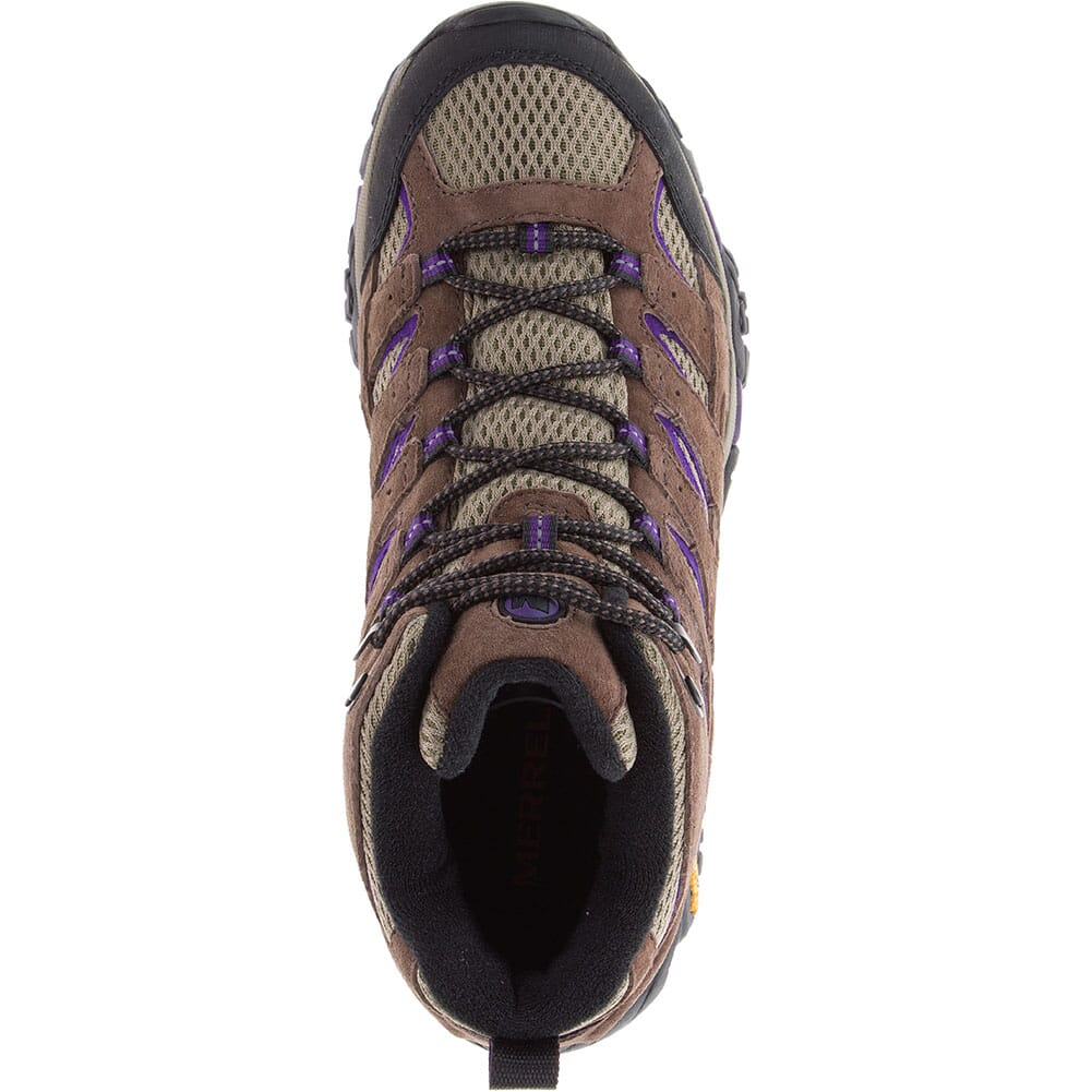 Merrell Women's Moab 2 Mid Ventilator Hiking Boots - Bracken/Purple