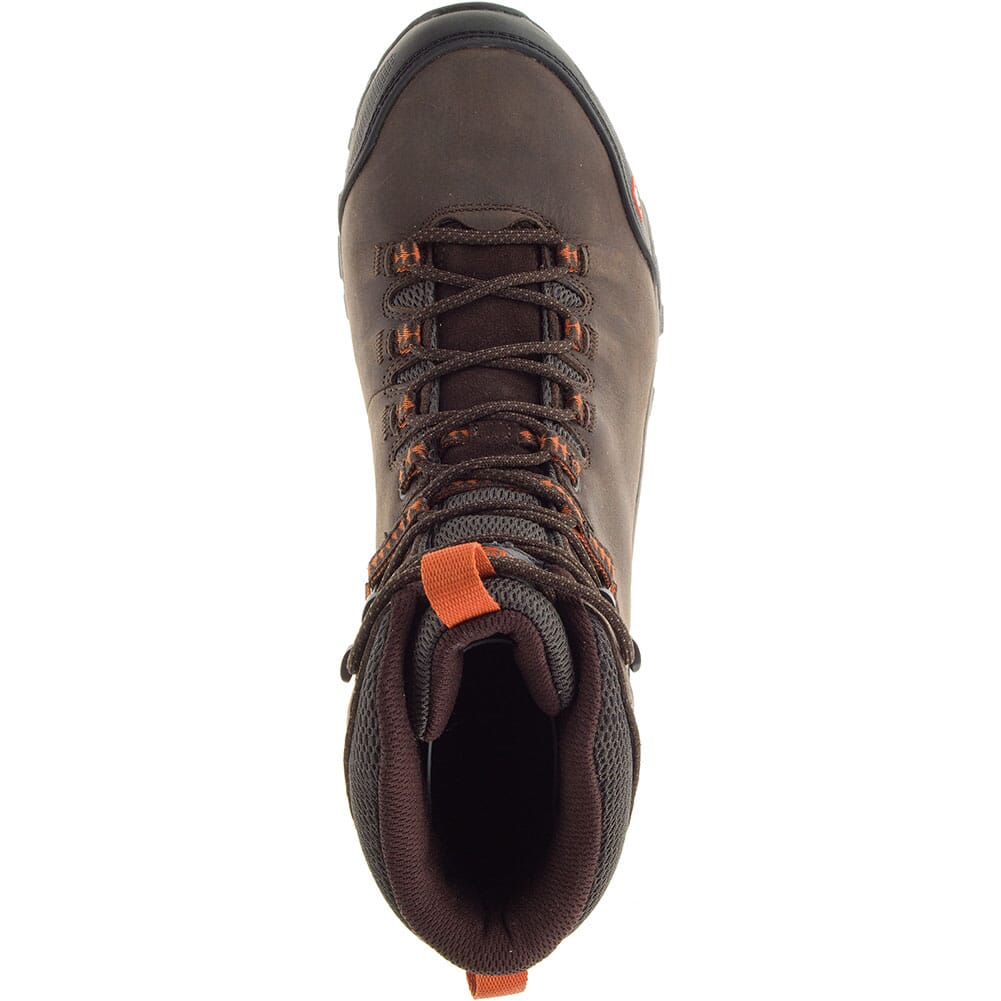 Merrell Men's Phaserbound Mid WP Safety Boots - Espresso