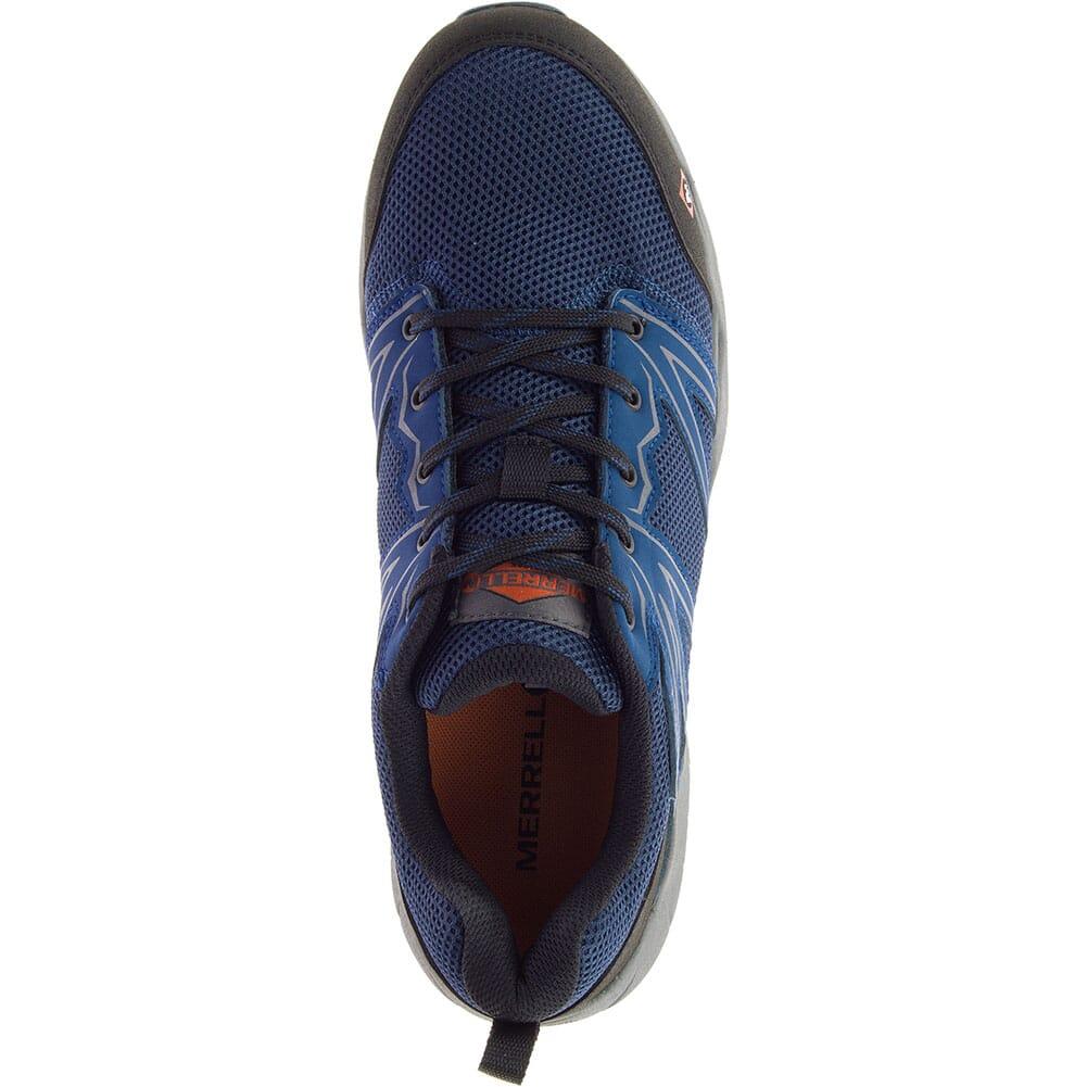Merrell Men's Fullbench Superlite Safety Shoes - Blue