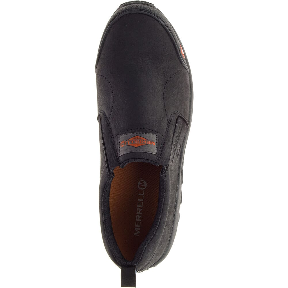 Merrell Men's Jungle Moc ESD Wide Safety Shoes - Black