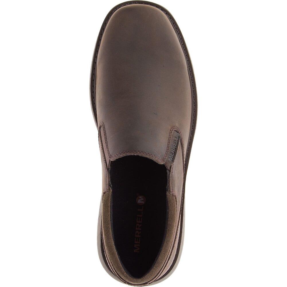 Merrell Men's World Vue Moc Wide Casual Shoes - Black
