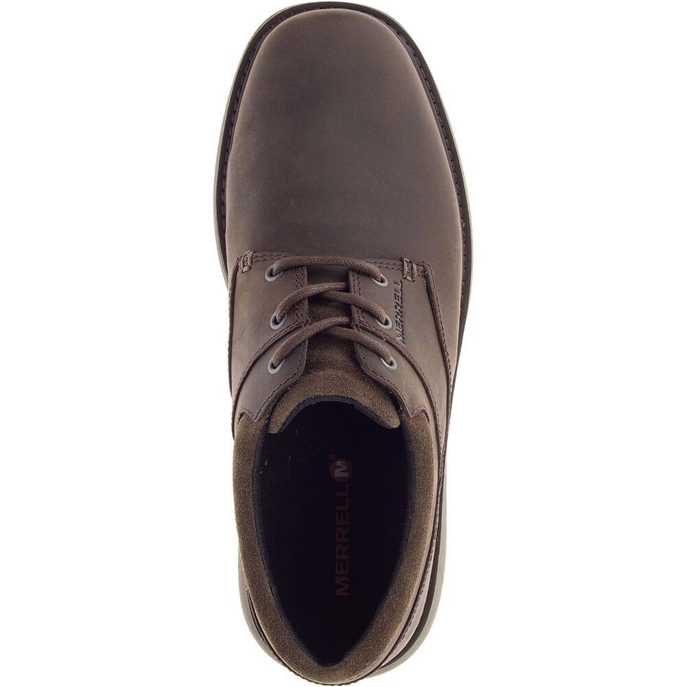 Merrell Men's World Vue Lace Wide Casual Shoes - Slate Black