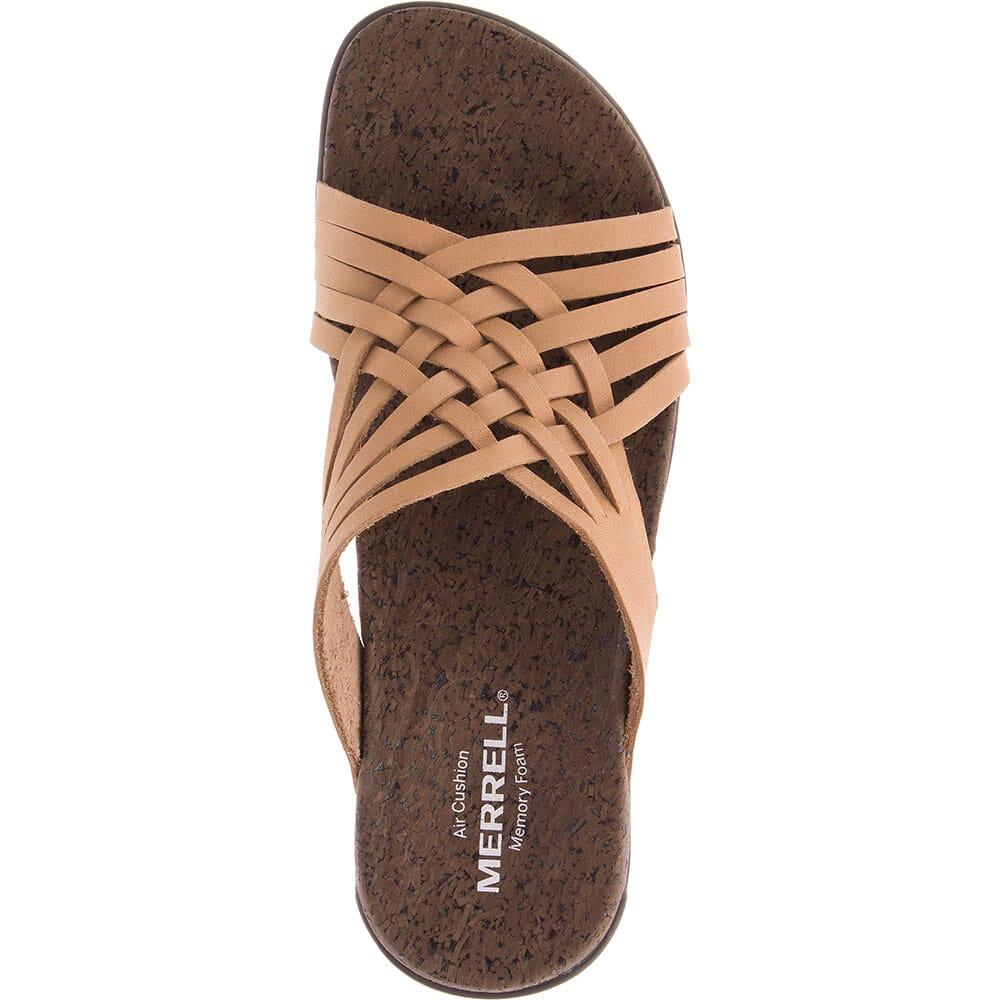 Merrell Women's District Mahana Slides - Natural Tan