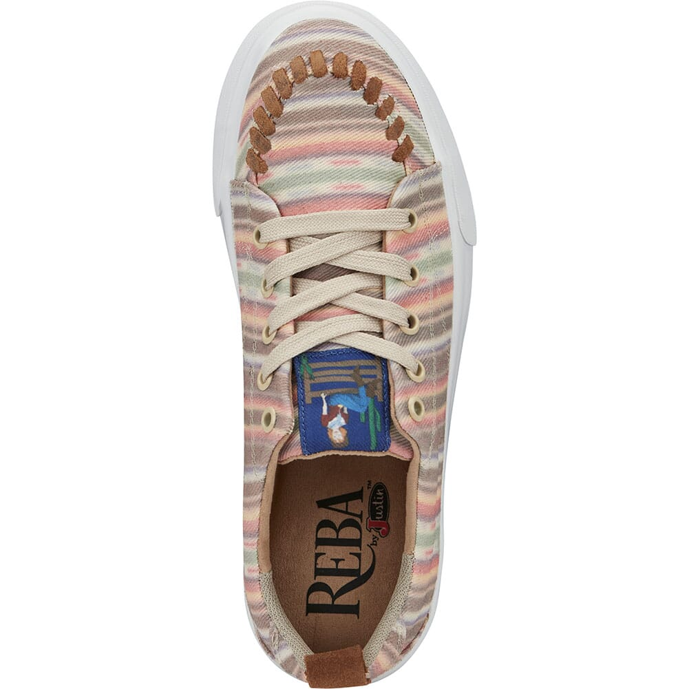 RML052 Justin Women's Arreba Casual Sneakers - Multicolor