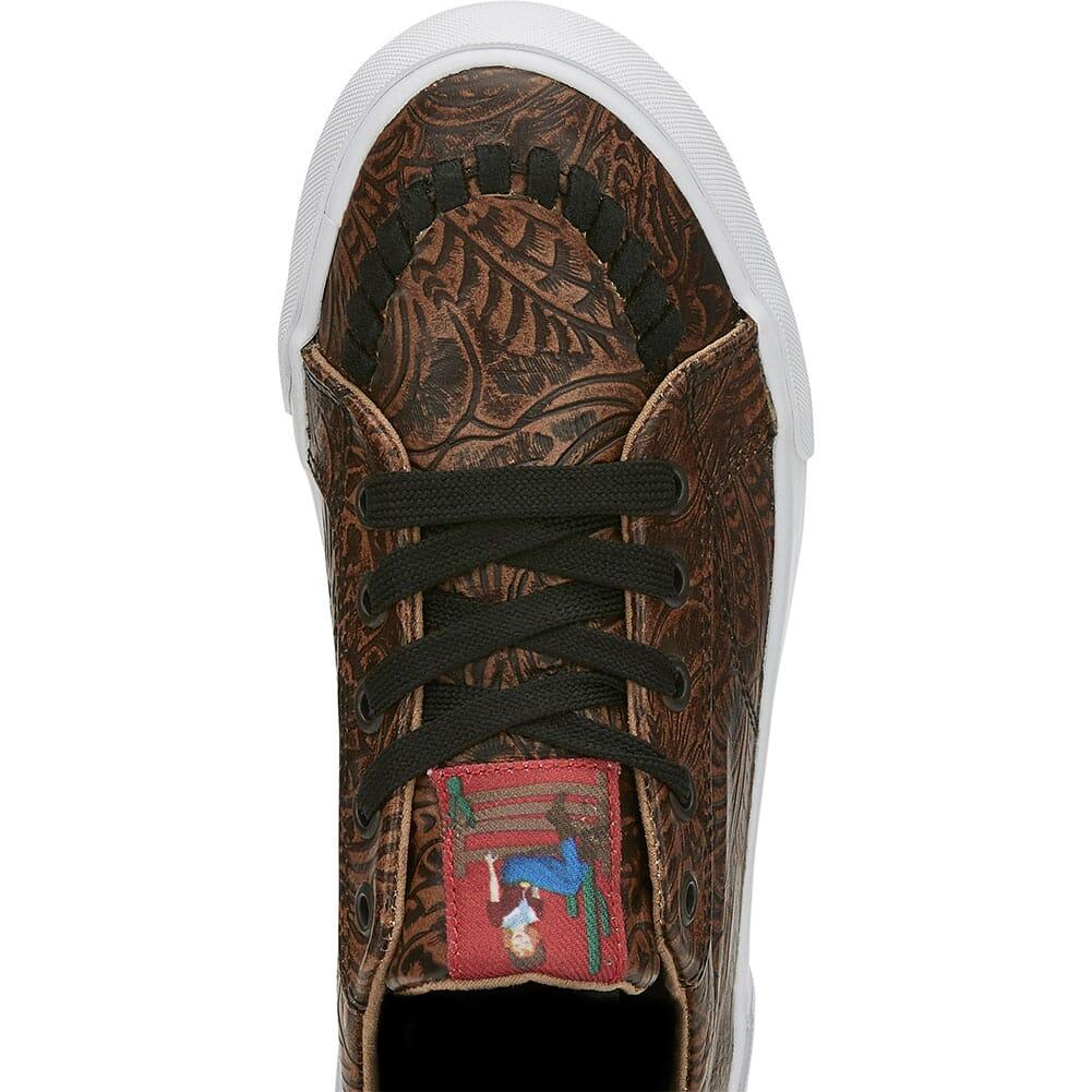 RML091 Justin Women's Susie Floral Casual Sneakers - Brown