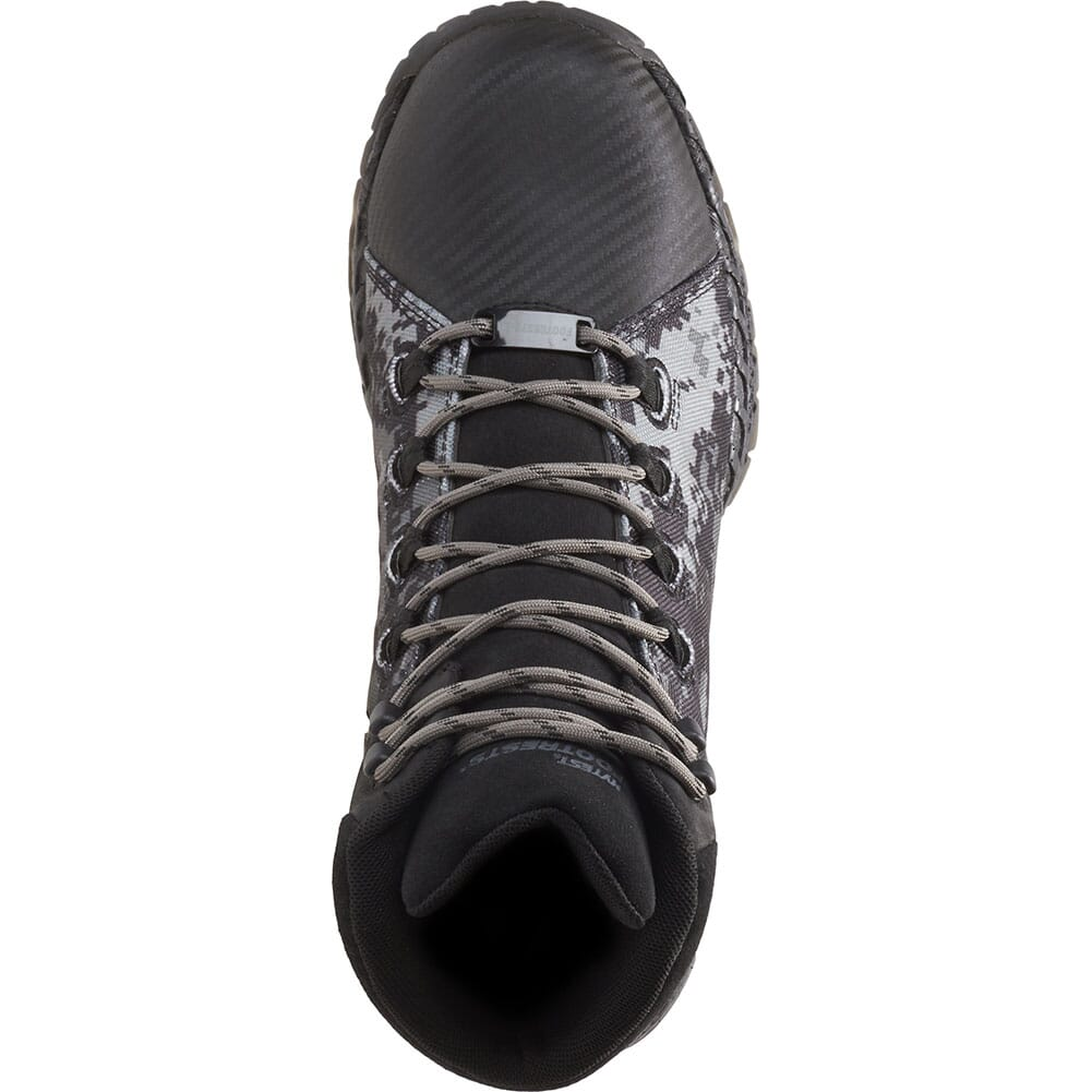 Footrests by Hytest Men's 2.0 Rebound WP Safety Boots - Camo/Black