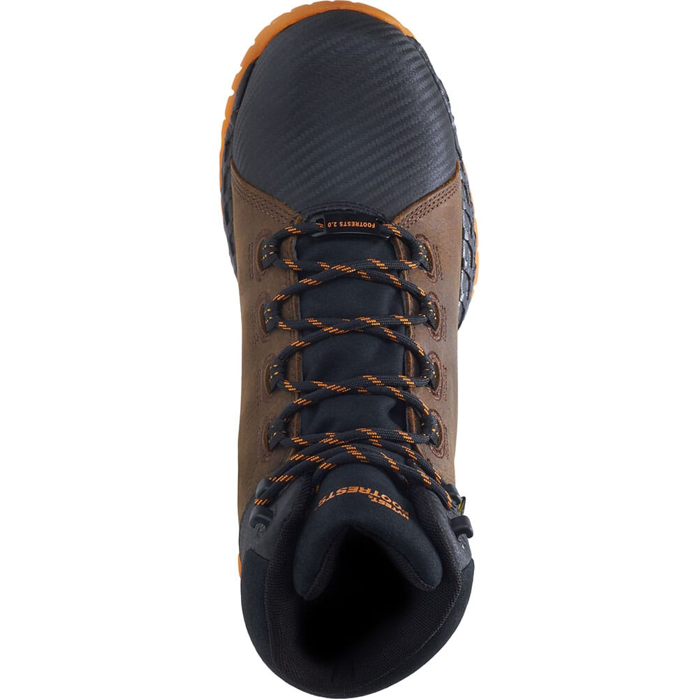 Footrests by Hytest Men's 2.0 Rebound Met Guard WP Safety Boots - Brown