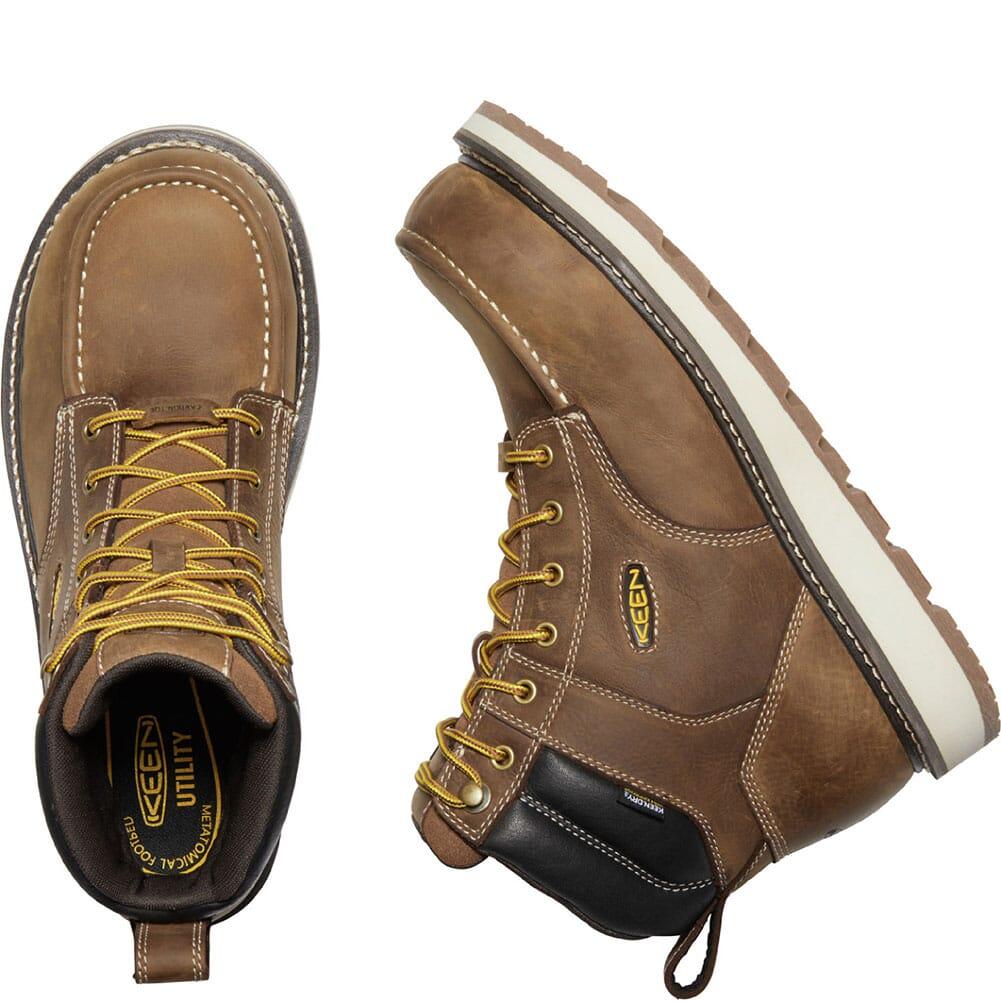 1023222 KEEN Utility Men's Cincinnati WP Safety Boots - Belgian/Sandshell