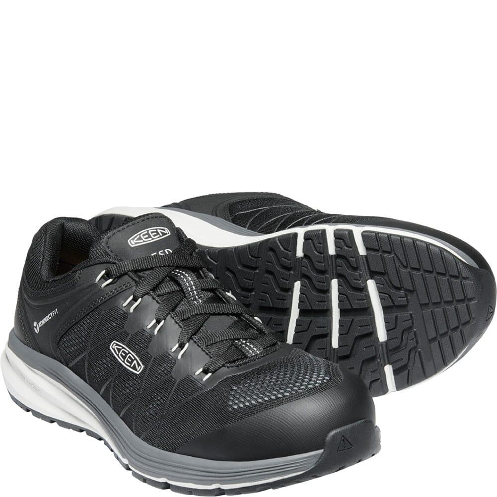 1024604 KEEN Utility Men's Vista Energy ESD Safety Shoes - Vapor/Black