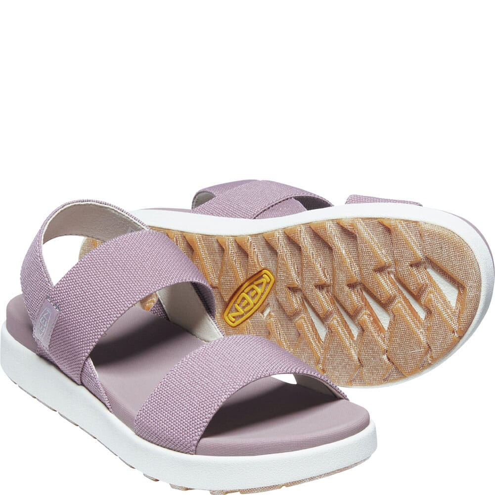 1024711 KEEN Women's Elle Backstrap Sandals - Dusty Lavender/Birch