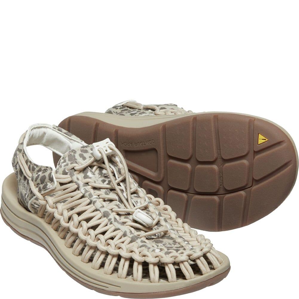 1025198 KEEN Women's Uneek Sandals - Chestnut/Safari