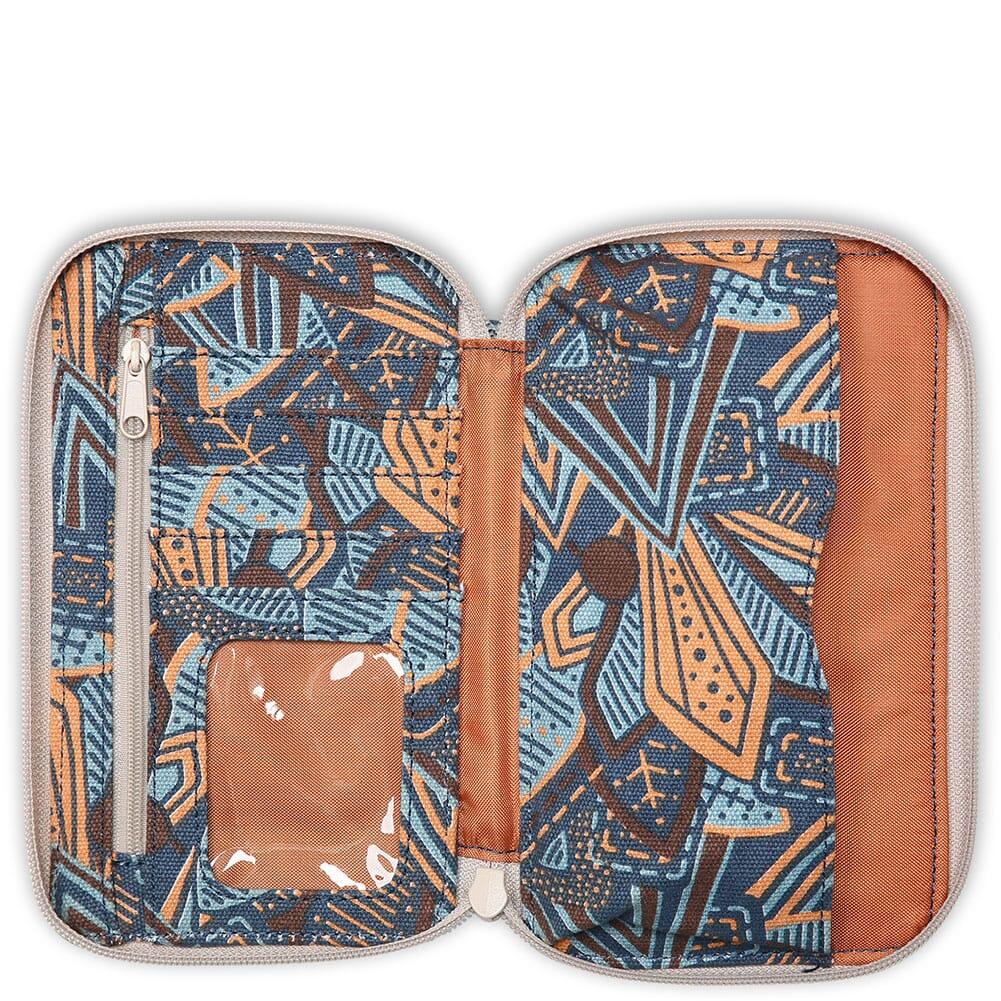 9104-1411 Kavu Women's Go Time Bi-Fold Wallet - Jumble Leaf