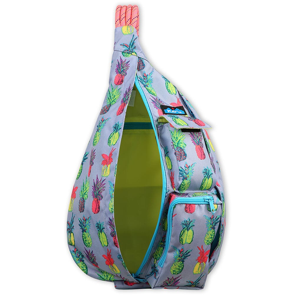 944-1417 Kavu Women's Rope Sling Bag - Pineapple Pop