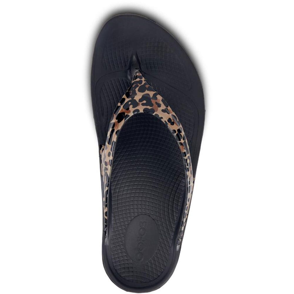 1403-LEOPARD OOFOS Women's OOlala Limited Sandals - Leopard