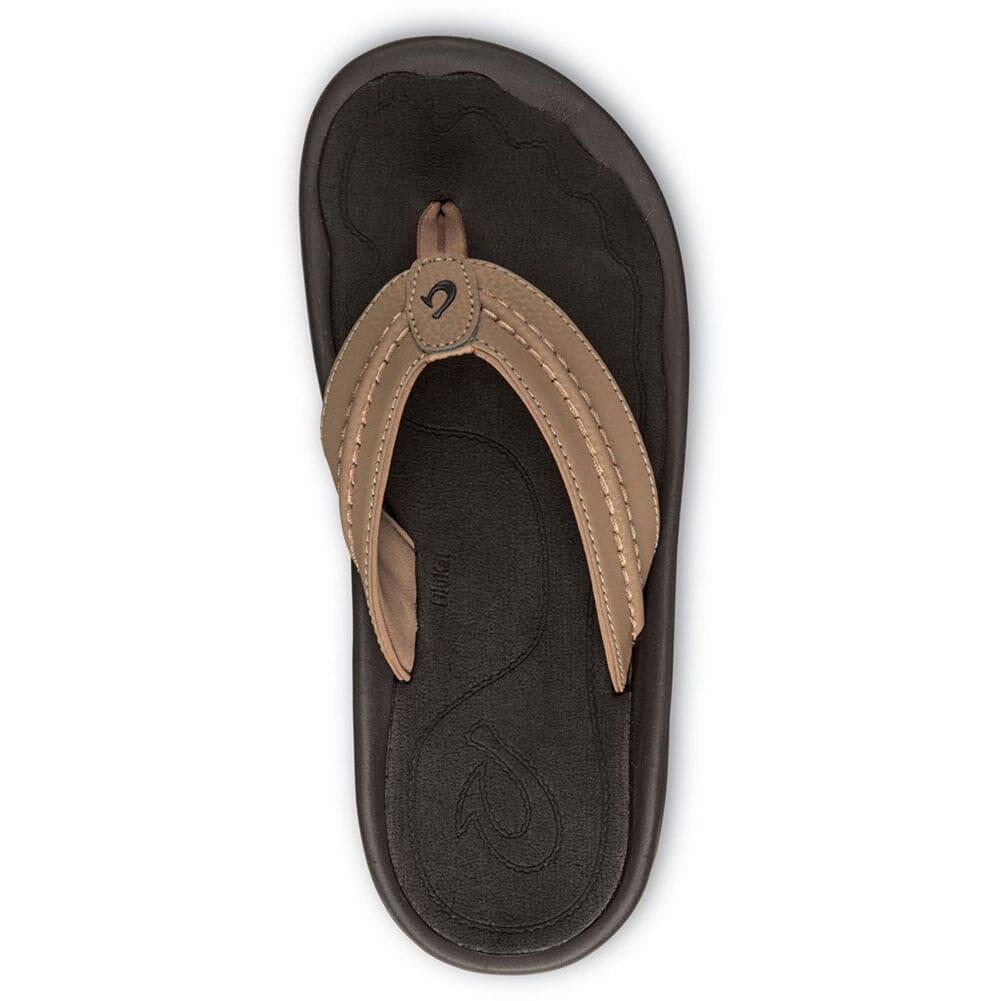 10161-3434 OluKai Men's Hokua Flip Flops - Tan/Tan