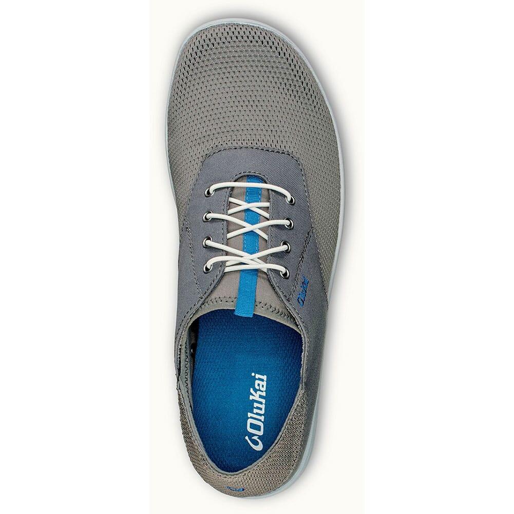 Olukai Men's Nohea Moku Casual Shoes - Fog/Charcoal