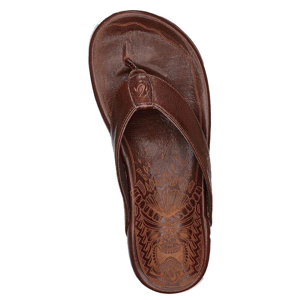 Olukai Men's Kulia Sandals - Dark Wood