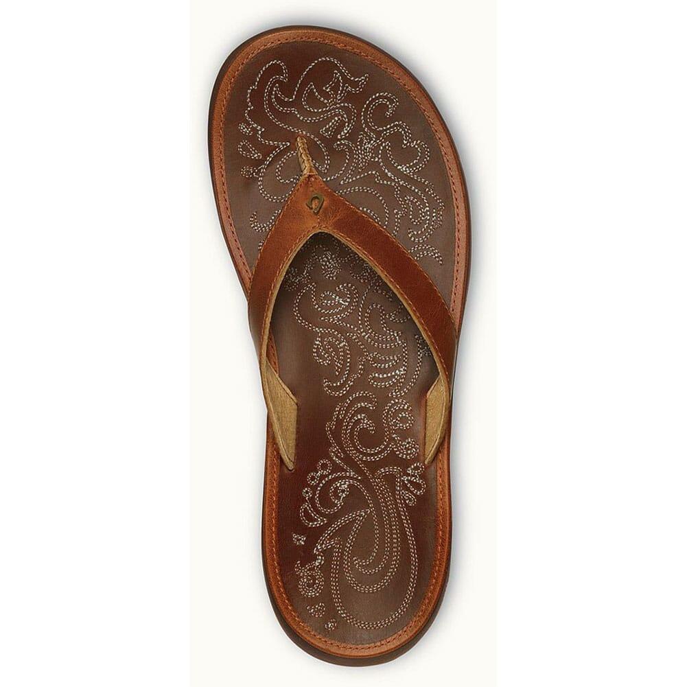 OluKai Women's Paniolo Flip Flops - Natural