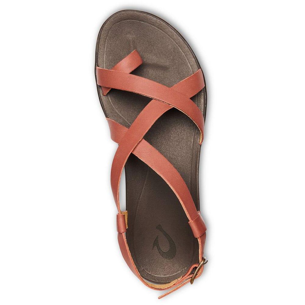 20288-CW48 OluKai Women's UPENA Sandals - Cedar Wood/Dark Java