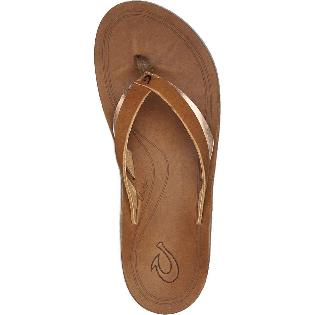 Olukai Women's Kaekae Flip Flops - Sahara/Bubbly