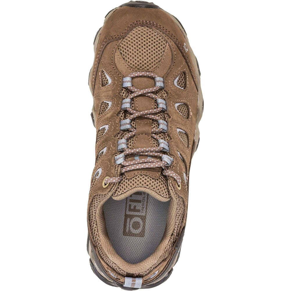 OBOZ Women's Sawtooth II Low WP Hiking Shoes - Brindle/Tradewinds