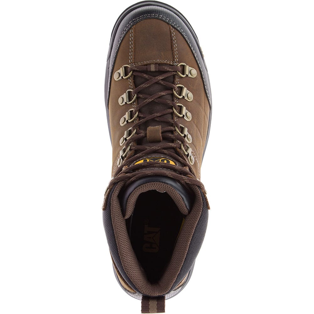 Caterpillar Men's Threshold WP Work Boots - Real Brown