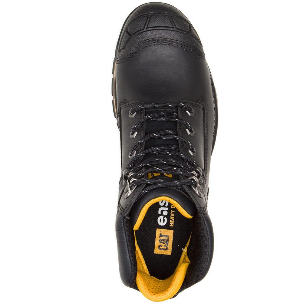 91084 Caterpillar Men's Excavator LT WP Comp Toe Safety Boots - Black