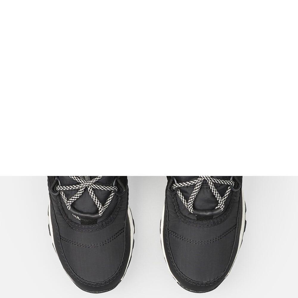 Sorel Kid's Whitney Short Lace Pac Boots - Black/Sea Salt