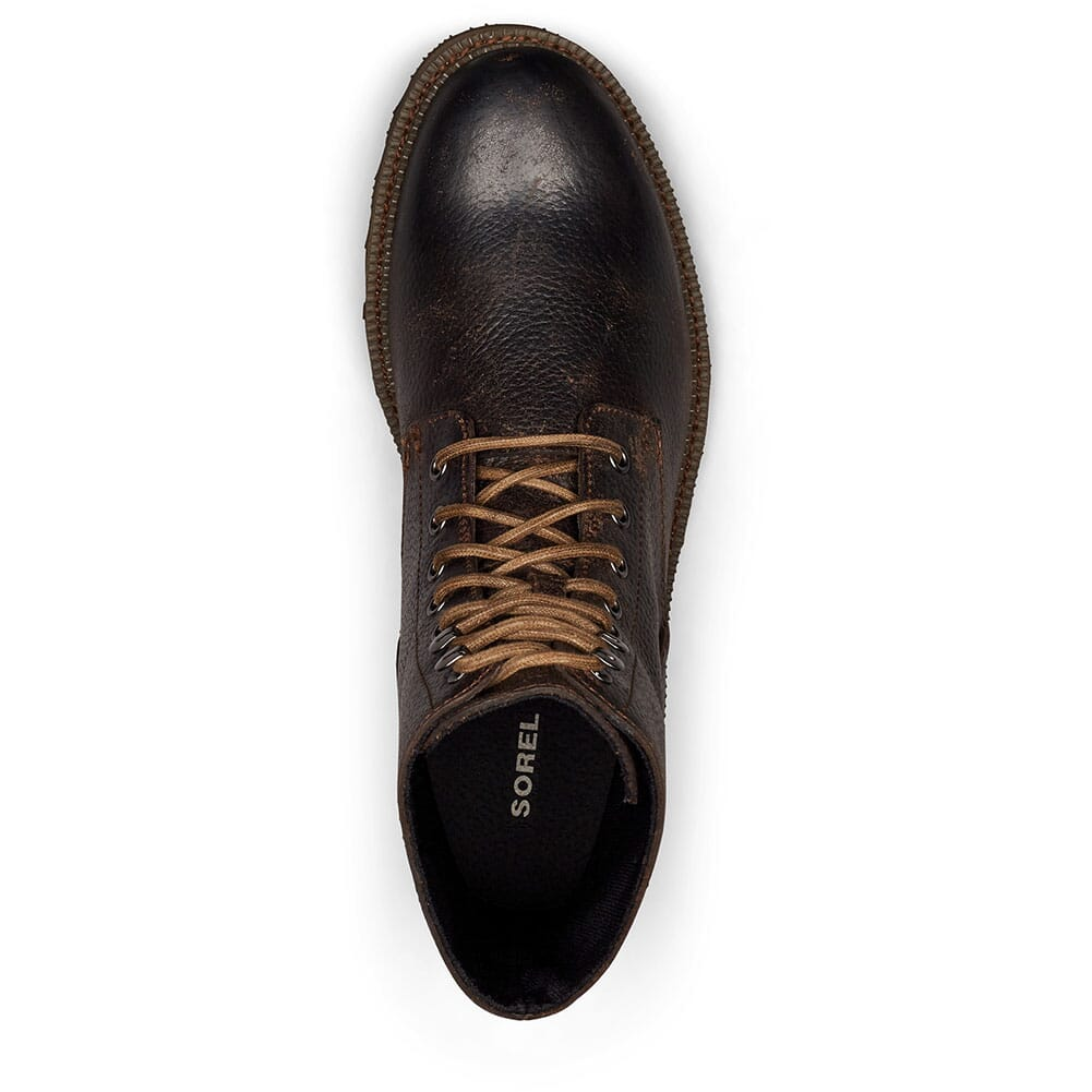 Sorel Men's Madson WP Casual Boots - Black/Ancient Fossil