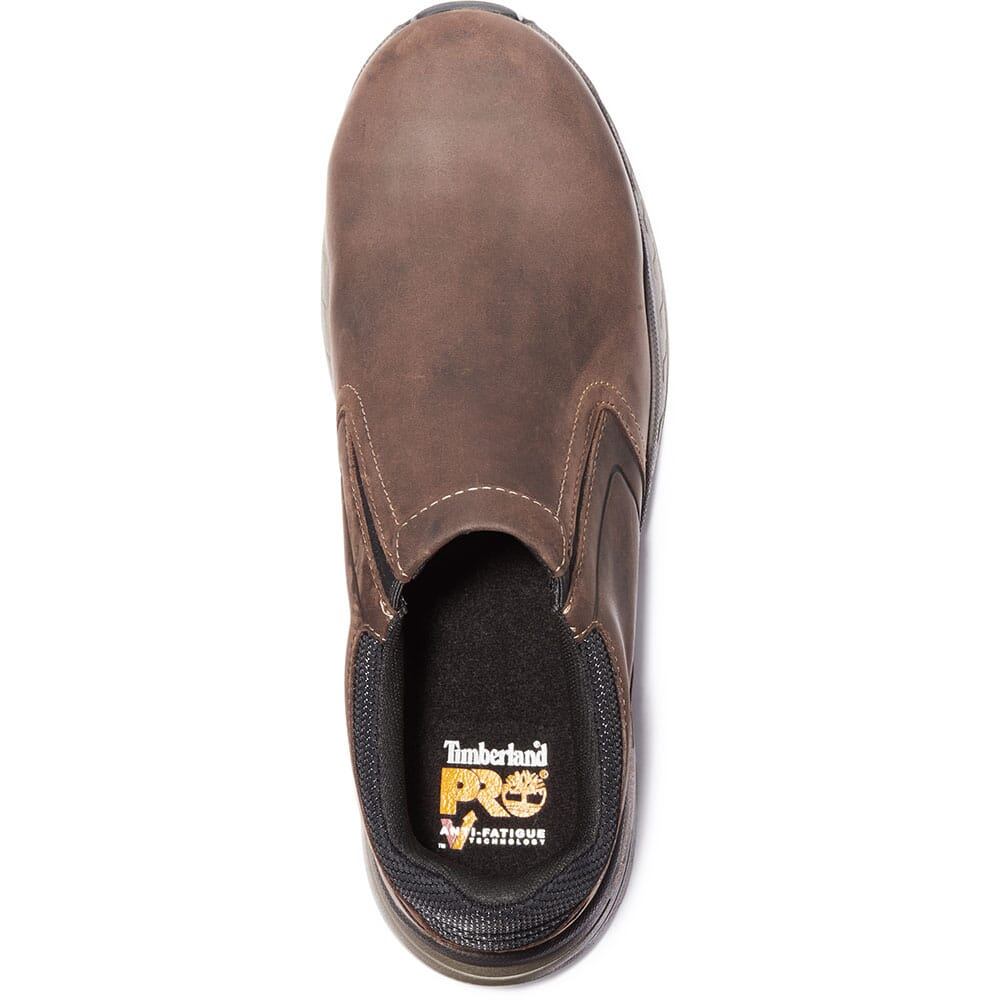 Timberland PRO Men's Drivetrain CT Safety Slip Ons - Brown
