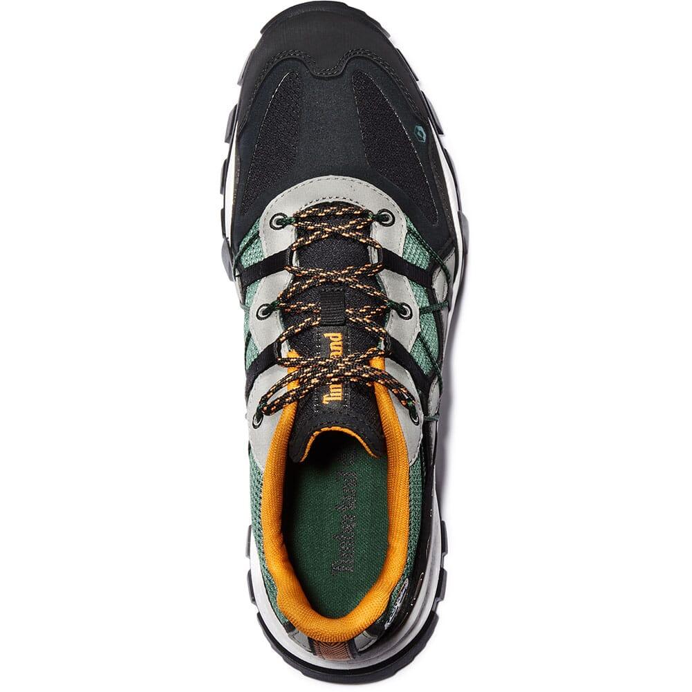 A243PY18 Timberland Men's Garrison Trail Hiking Shoes - Dark Green/Black