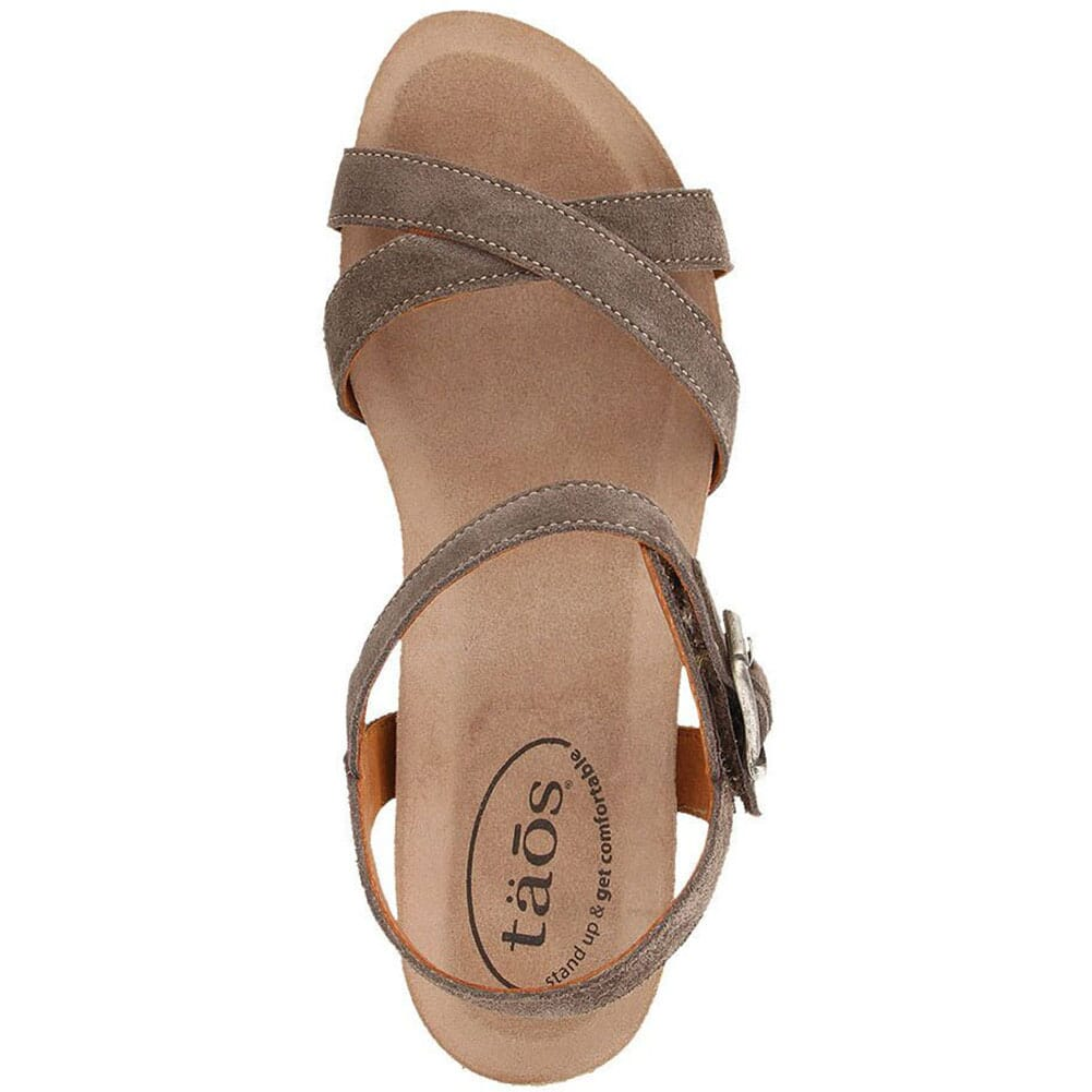 Taos Women's Hey Jute Sandals - Grey